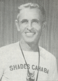 COACH 'PIGGY' MITCHELL WAS SHADES VALLEY'S FIRST COACH.