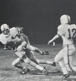 MITCHELL KELLY MAKING A TACKLE.(Click to enlarge.)