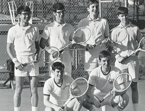 SHADES VALLEY TENNIS TEAM.(Click to enlarge.)