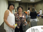 Anita Cooley Israel and Kay Beasley Chambliss at our 41st reunion Aug. 13, 2011